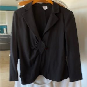 Armani black dress suit
